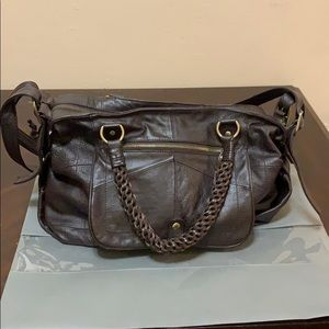 Lynn Adler Leather Handbag